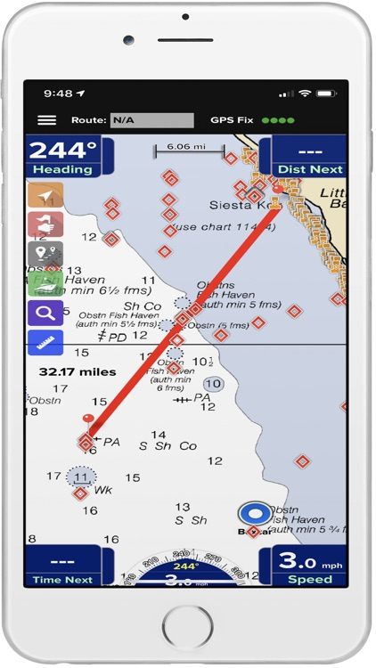 PRO CHARTS - Marine Navigation screenshot-3