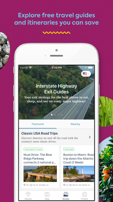 Download Roadtrippers - Trip Planner for Pc