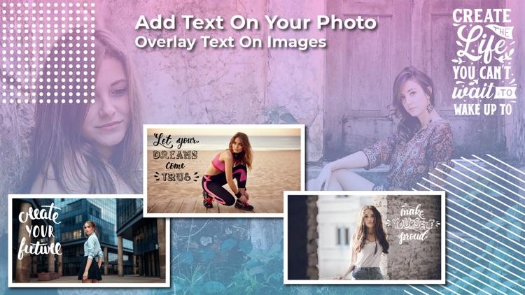 TextArt: Text On Photo screenshot-6