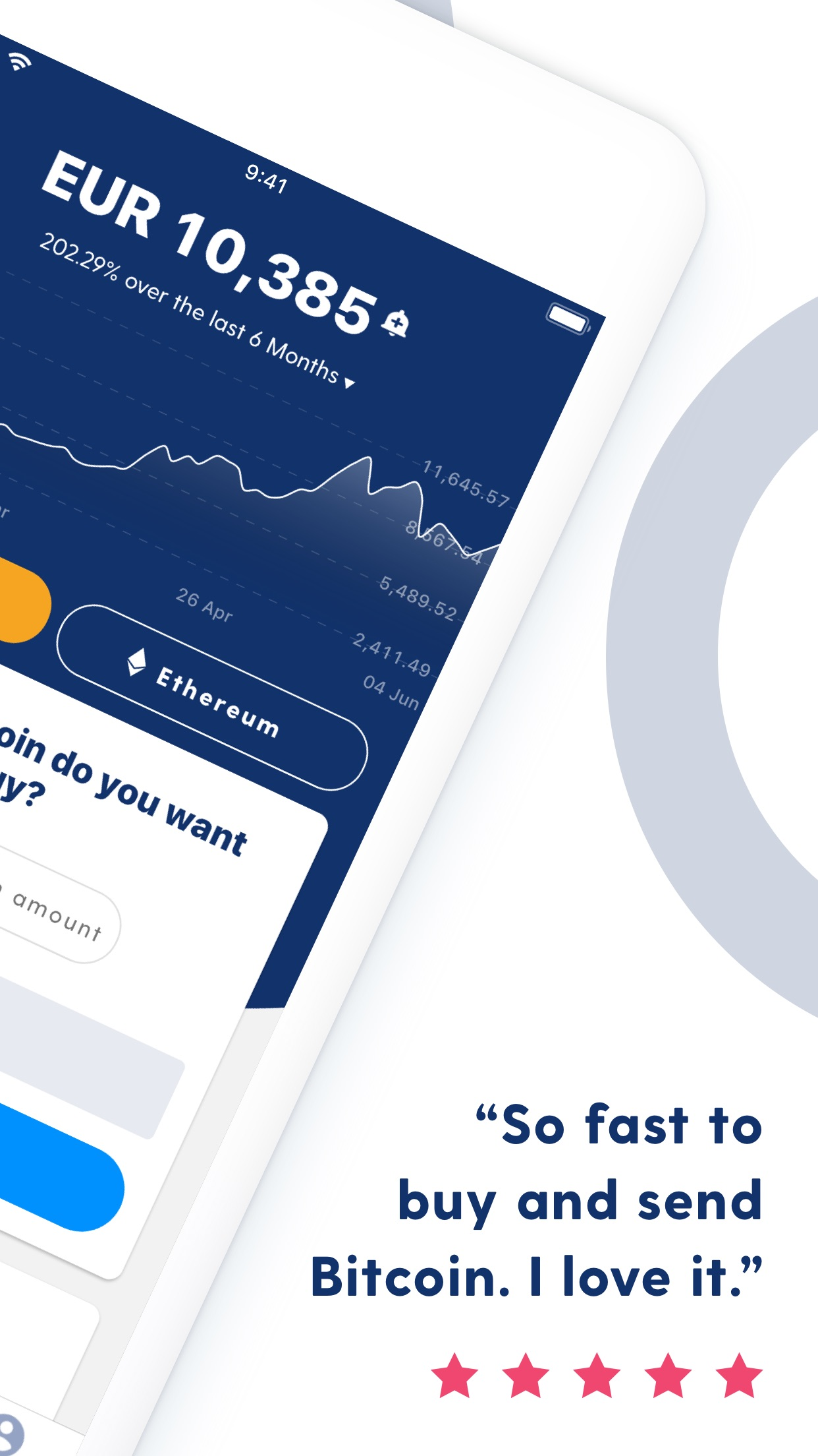Luno Bitcoin & Cryptocurrency Screenshot