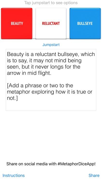 Metaphor Dice screenshot-3