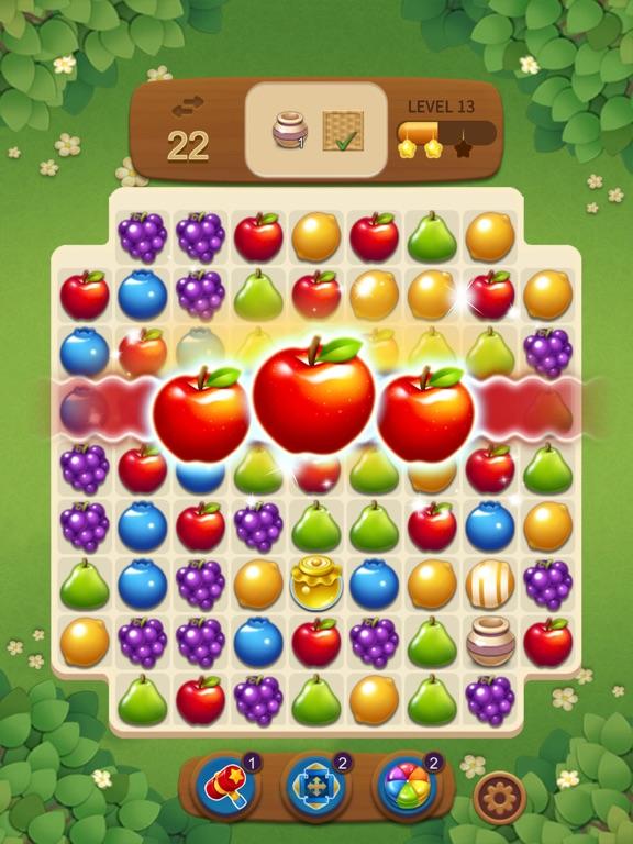 フルーツマジック:甘いパズルマッチのおすすめ画像2