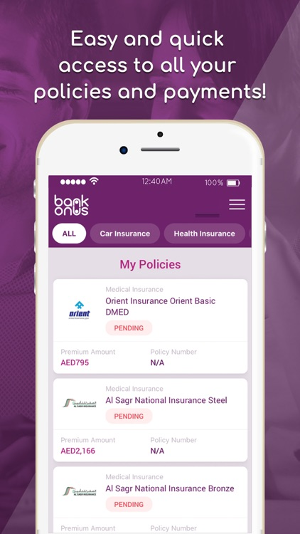 BankOnUs: Insurance & Banking screenshot-2
