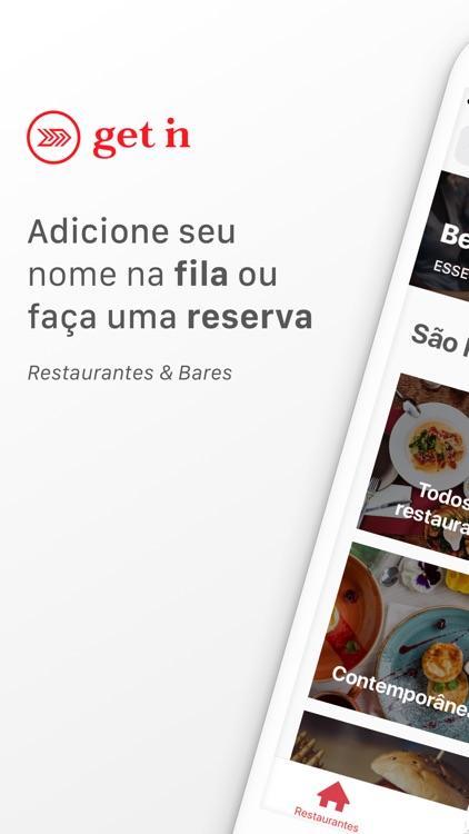 Get In - Restaurantes e Bares screenshot-0