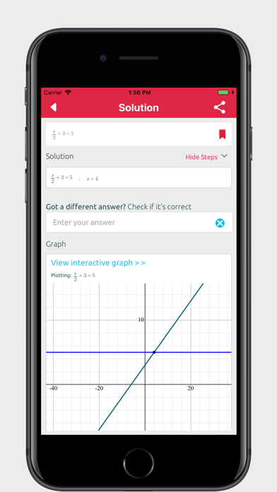 Screenshot for Symbolab Calculator in United States App Store