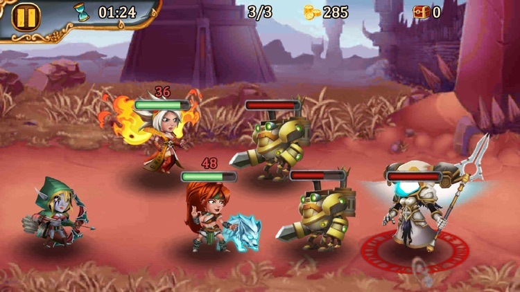 Brave Soul Heroes: Idle RPG screenshot-4