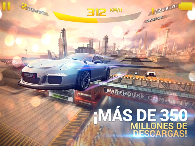 ‎Asphalt 8: Airborne Screenshot
