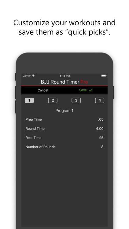 BJJ Round Timer Pro