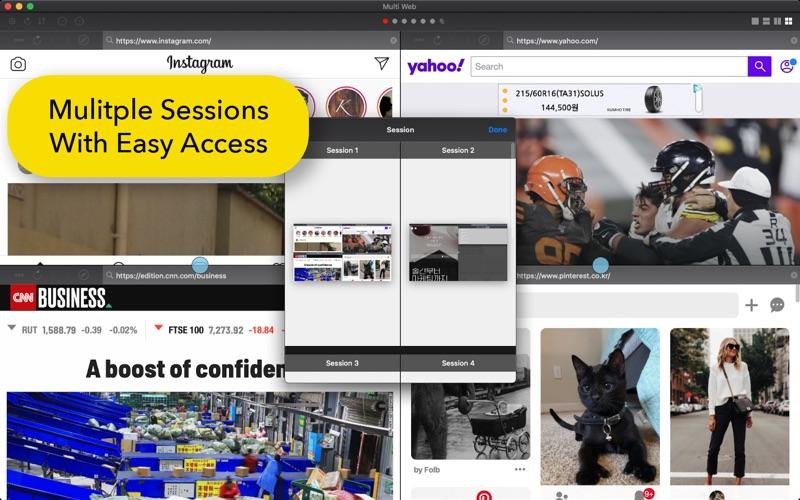 屏幕分裂: 多任务Web浏览器 for Mac