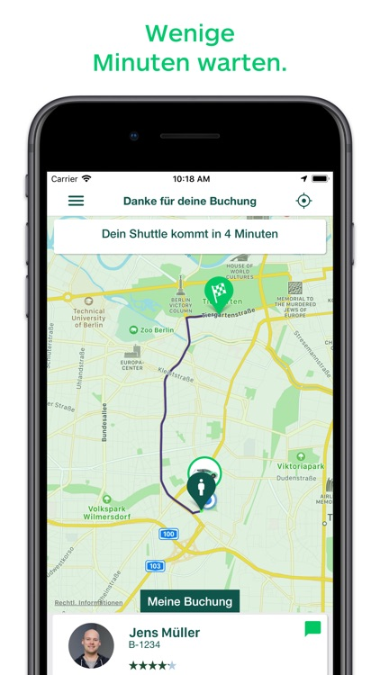 CleverShuttle: Ridepooling App screenshot-3