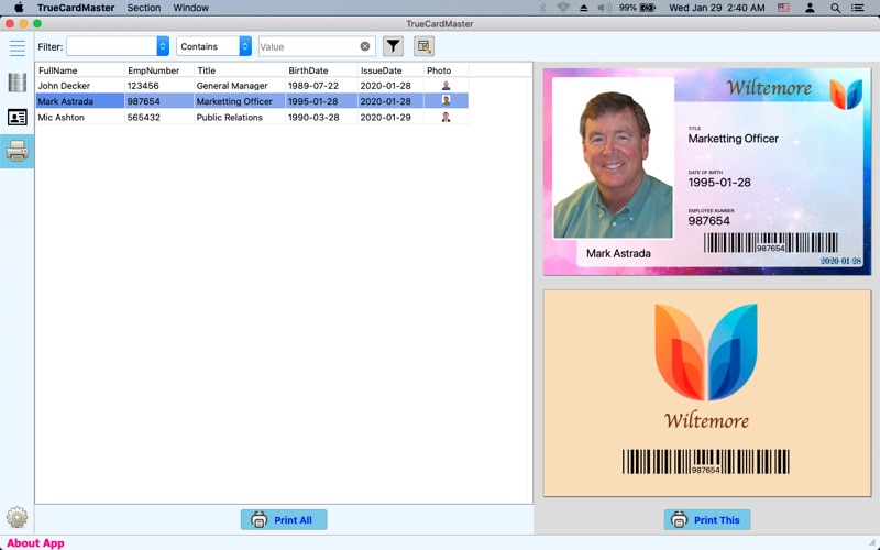 True Card Master for Mac
