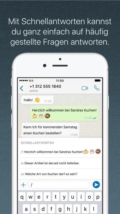 Screenshot for WhatsApp Business in Austria App Store