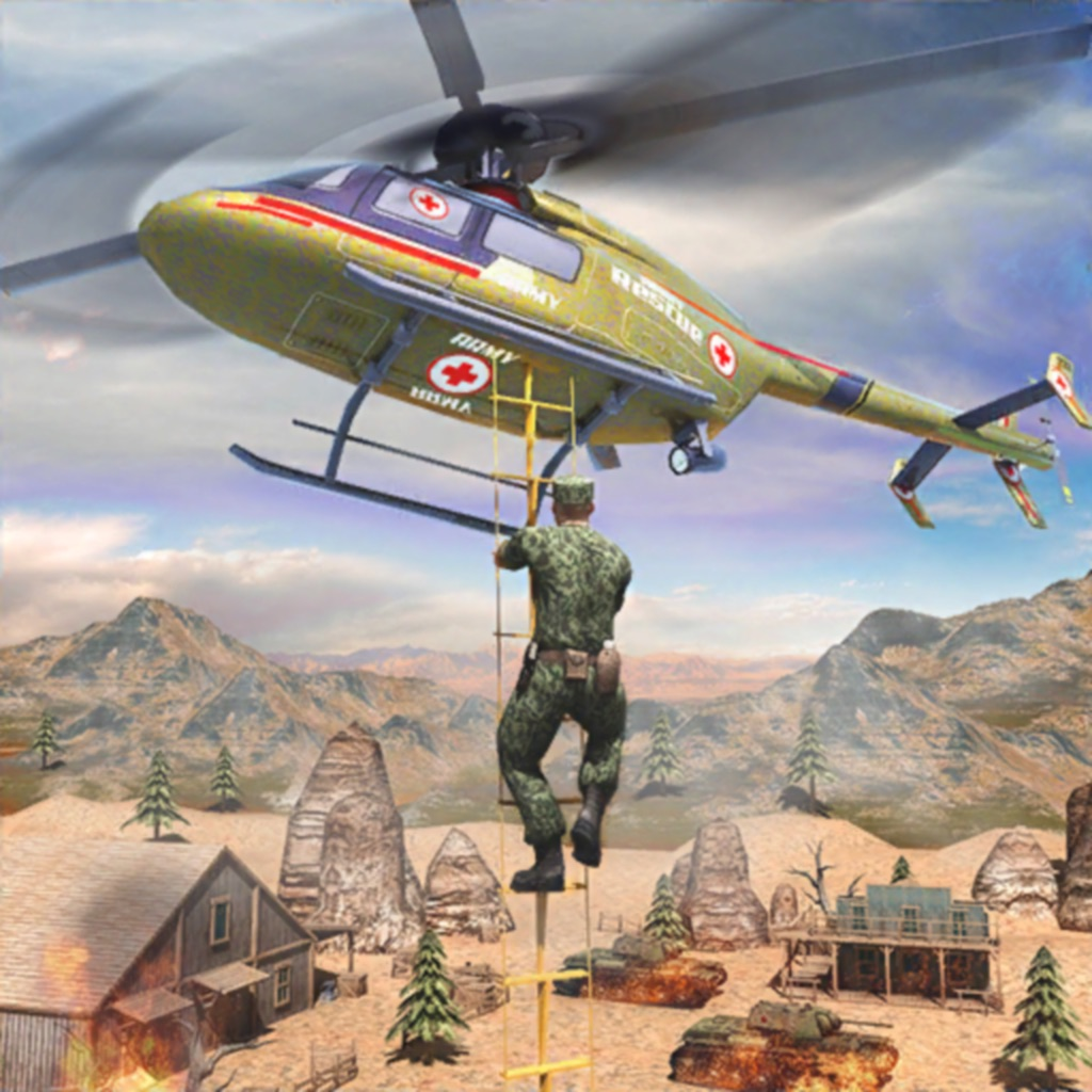 Army Copter People Savior hack