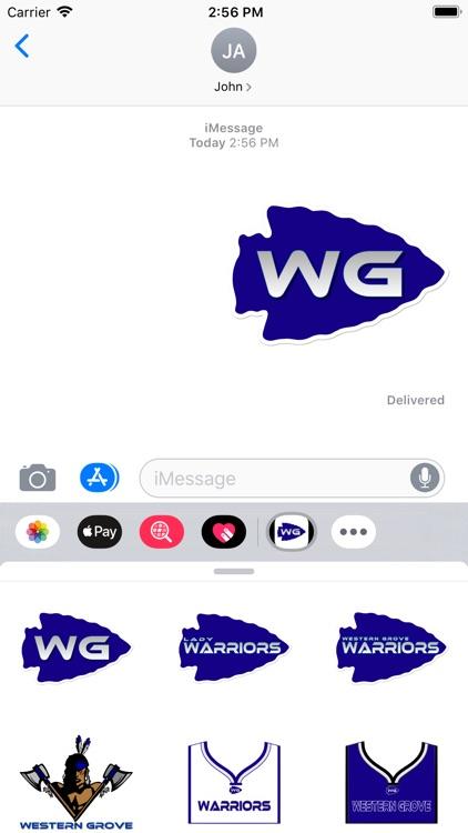 WGWarrior Stickers