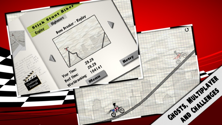 Stick Stunt Biker screenshot-1
