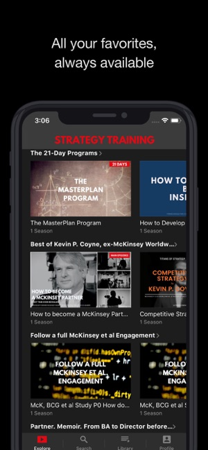 Strategy Training on the App Store