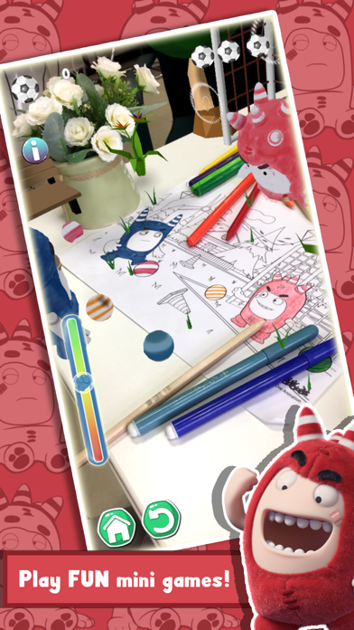 Oddbods Live Coloring (AR) screenshot one