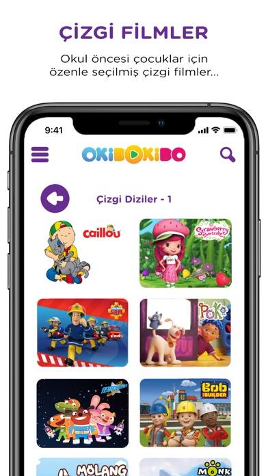 OkiDoKido: Çocuk Çizgi Film TV screenshot one