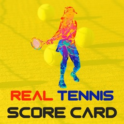 Real Tennis Score Card