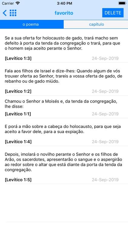 The Portuguese Bible Offline screenshot-7