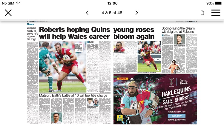 The Rugby Paper screenshot-3