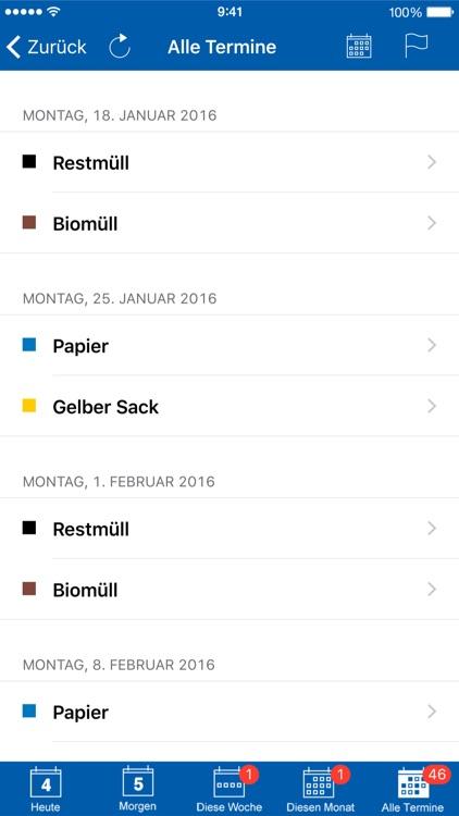 Abfall-App NEA screenshot-3