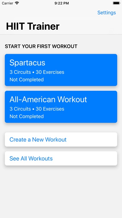 HIIT Trainer screenshot #1