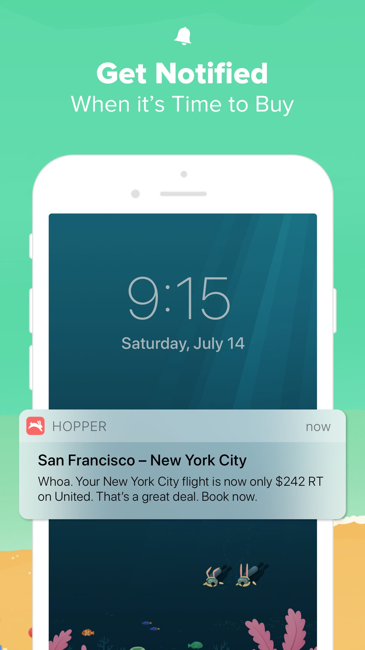 Hopper - Book Flights & Hotels Screenshot