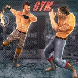 Bodybuilder Wrestling Arena