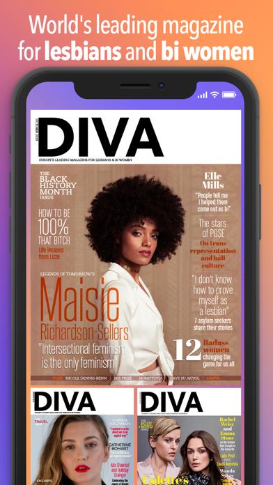 DIVA Magazine Screenshot