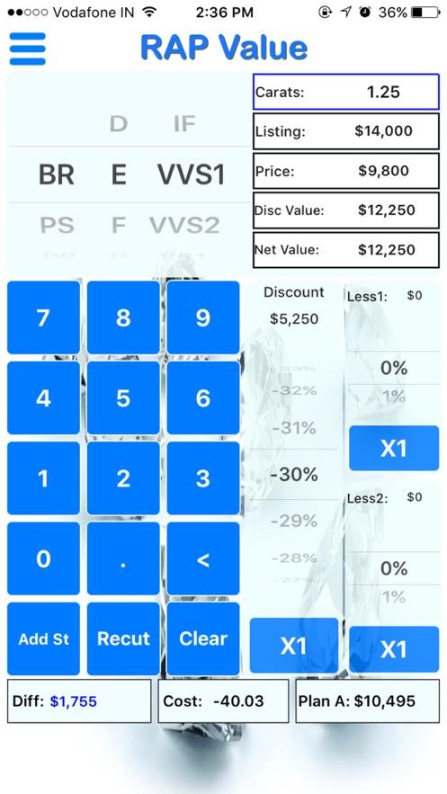 RAP Value App 截图