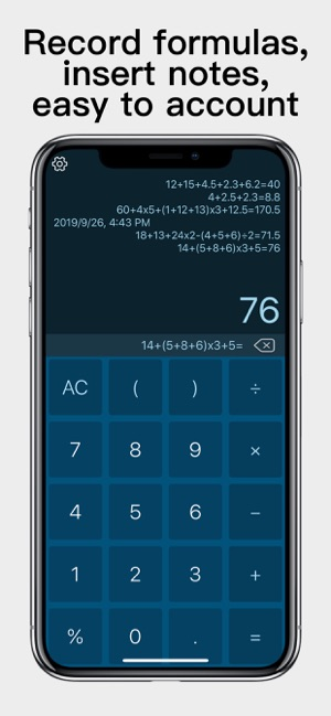 máy tính thoại - Voice Calc