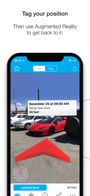 ‎Find Your Car with AR Screenshot