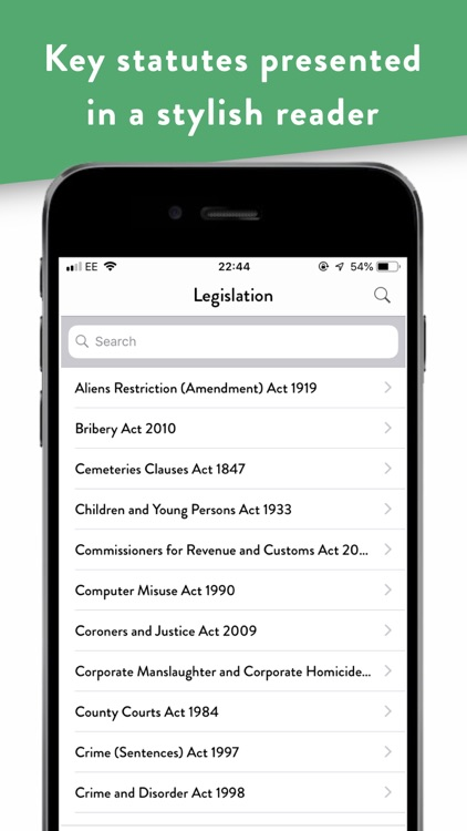 Pocket Law Guide: Criminal screenshot-6