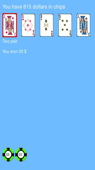 Ears Video Poker screenshot two