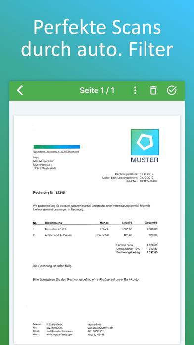 Docutain: PDF Scanner, OCR, QRScreenshot von 2