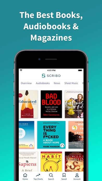 Scribd - audiobooks & ebooks for Windows