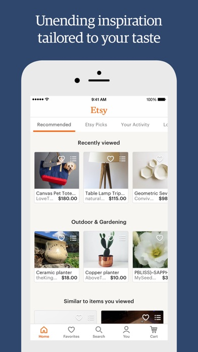Screenshot for Etsy – Shop special, every day in United States App Store