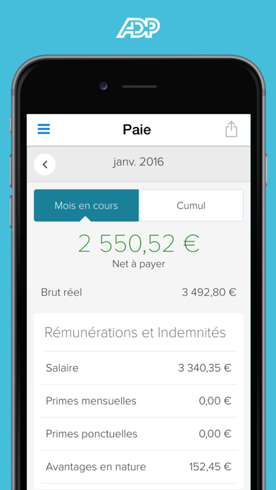 Screenshot #2 pour ADP Mobile Solutions