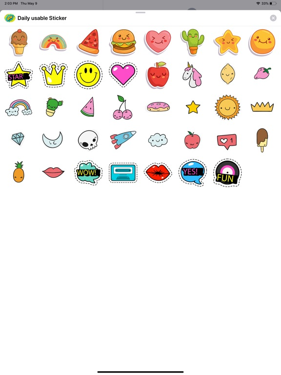 Daily Usable Stickers screenshot 4