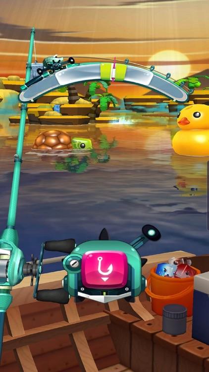 Fishing Cube screenshot-3