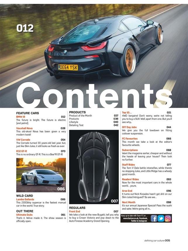 Fast Car Magazine On The