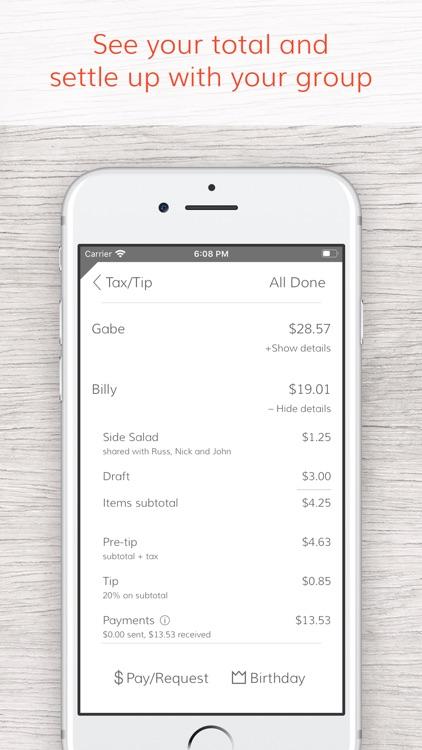 Tab - The simple bill splitter screenshot-5
