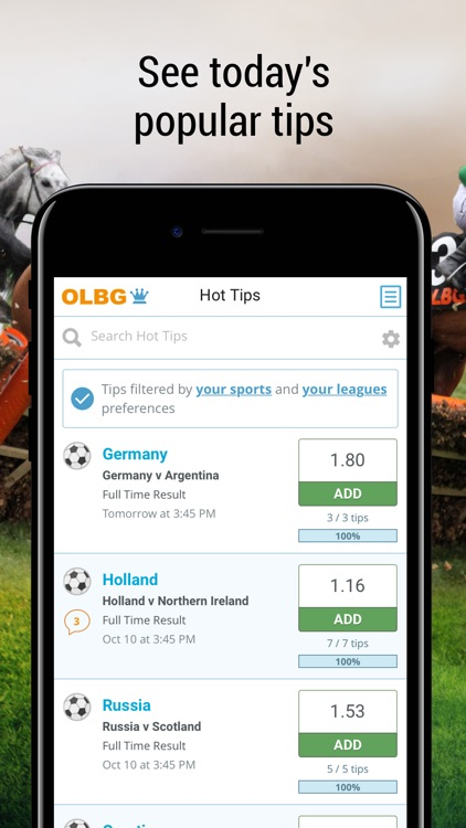 Sports Betting Tips from OLBG screenshot-4