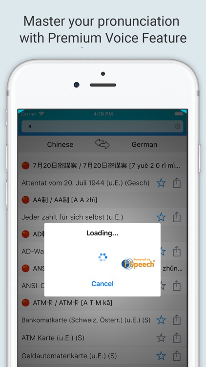German Chinese Dictionary + screenshot-3