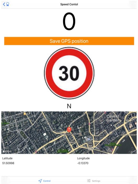 Speed Control Alert screenshot 2