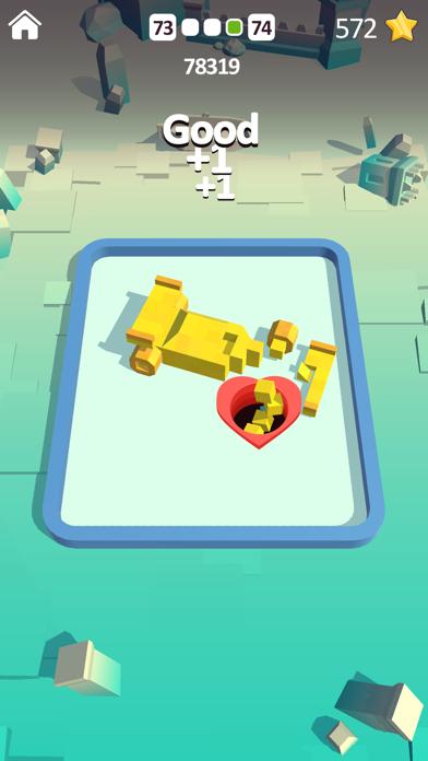 Shooting Hole - Collect Cubes screenshot 3