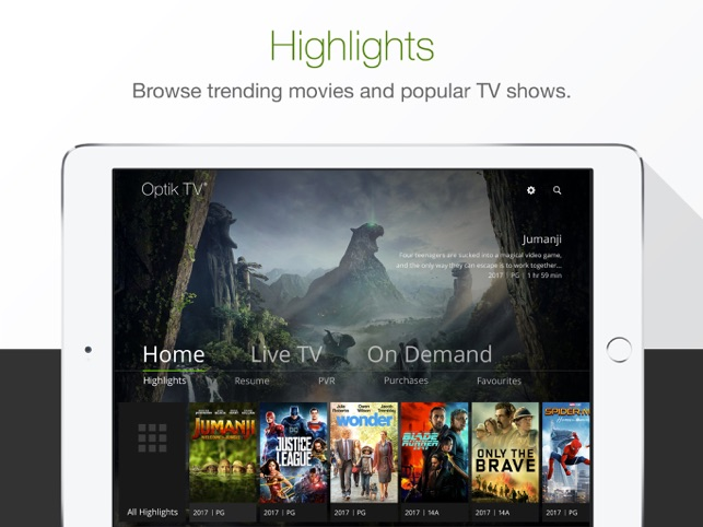 Optik TV® on the App Store