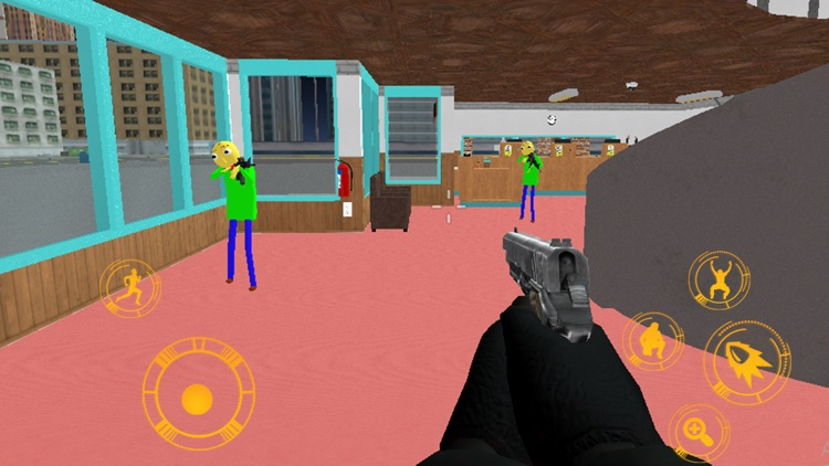 Baldi Stickman Gangstar Vegas screenshot-1