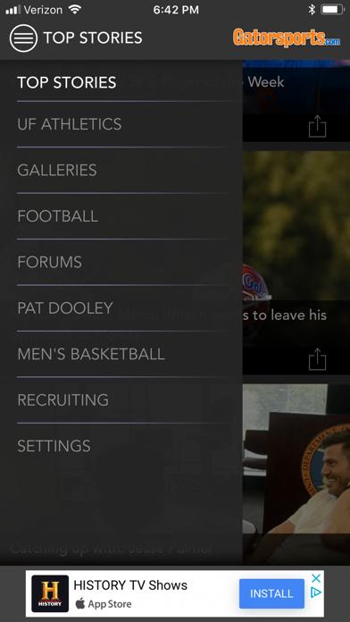 Gatorsports review screenshots